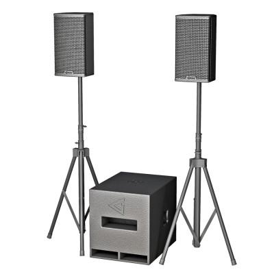 Complete 12 - Powered speaker set