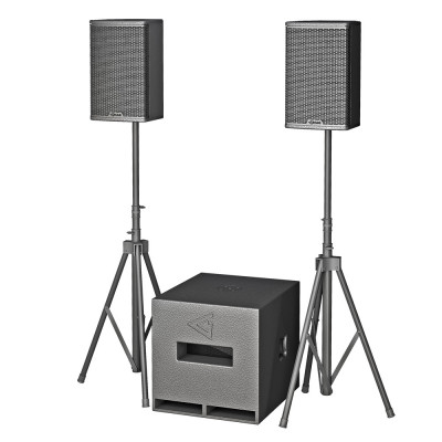 Complete 15 - Powered speaker set