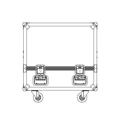 FOCUS15-FC - Speaker flight cases