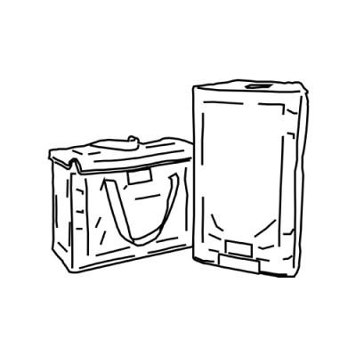 Vera IV-TB - Speaker transportation bags