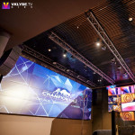 "MAG Audio in the new format of sports bar ""Champion Hall"""